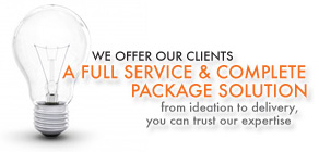 We Offer Our Clients Complete Package Solutions